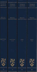 Commentaries On The Gospels Of Matthew And John