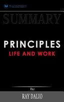 Summary  Principles