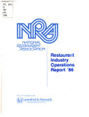 Restaurant Industry Operations Report     for the United States
