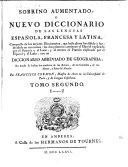 Sobrino Aumentado, O Nuevo Diccionario De Las Lenguas Española, Francesa Y Latina ebook