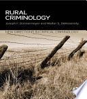 Rural Criminology