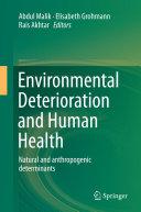 Environmental Deterioration and Human Health