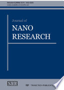 Journal Of Nano Research Book PDF
