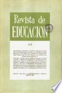 Revista de educación nº 117