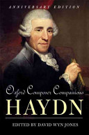 Oxford Composer Companions: Haydn