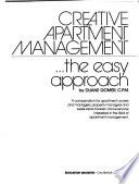 Creative apartment management ... the easy approach