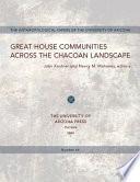 Great House Communities Across the Chacoan Landscape
