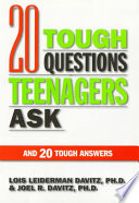 20 Tough Questions Teenagers Ask and 20 Tough Answers Book