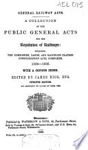 General Railway Acts