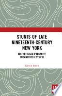 Stunts of Late Nineteenth Century New York Book PDF