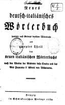Nuovo dizionario italiano-tedesco composta sul dizionario dell'Academia della crusca e su quello dell'abate Francesco de Alberti