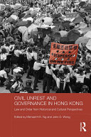 Civil Unrest and Governance in Hong Kong