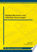 Applied Mechanics and Industrial Technologies Book
