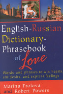 English Russian Dictionary phrasebook of Love