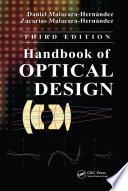 Handbook of Optical Design