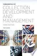 Fundamentals of Collection Development and Management Book