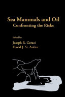 Sea Mammals and Oil: Confronting the Risks