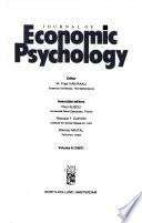 Journal of Economic Psychology, Volume 8