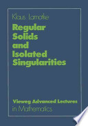 Regular Solids and Isolated Singularities