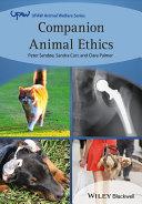 Pdf Companion Animal Ethics