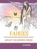 Adult Fairies Coloring Book