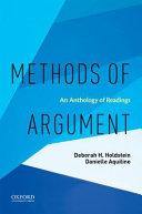 Methods Of Argument