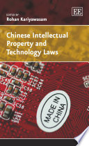 Chinese Intellectual Property And Technology Laws Book PDF
