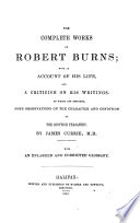 The Complete Works of Robert Burns Book