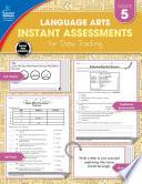 Instant Assessments for Data Tracking  Grade 5