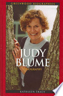 """Judy Blume: A Biography"" by Kathleen Tracy"