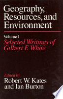 Geography, Resources and Environment, Volume 1