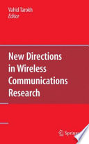 New Directions In Wireless Communications Research Book PDF