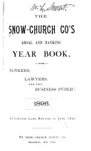 The Snow Church Company s Legal and Banking Year Book