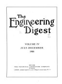 Industrial Engineering and the Engineering Digest