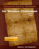 Document Exercise Workbook for  western Civilization