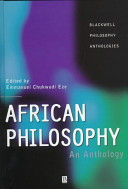 Cover of African Philosophy