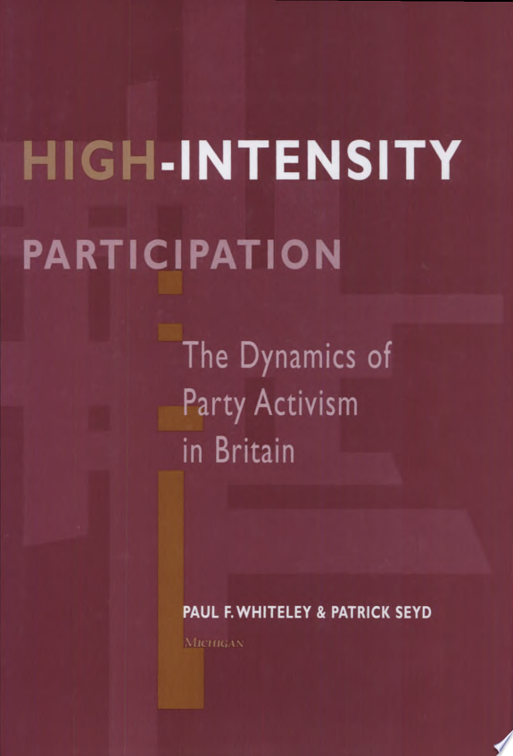 High intensity Participation