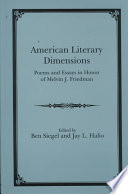 American Literary Dimensions