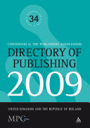Directory of Publishing 2009