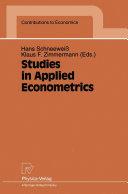 Studies in Applied Econometrics