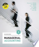 Managerial Accounting  Asia Pacific Edition
