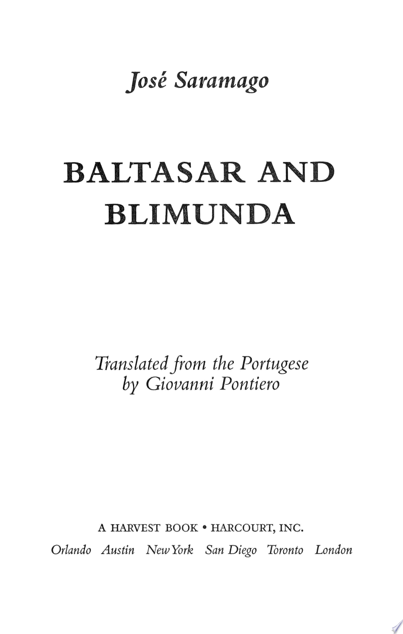 Baltasar and Blimunda banner backdrop