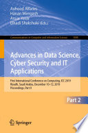 Advances in Data Science, Cyber Security and IT Applications