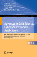 Advances in Data Science  Cyber Security and IT Applications