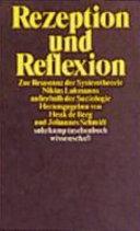 Rezeption und Reflexion