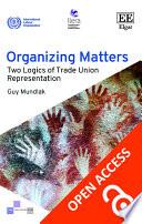 Organizing Matters