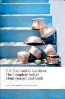 Pdf The Complete Indian Housekeeper and Cook Telecharger