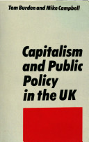 Capitalism and Public Policy in the UK
