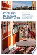"""Food and Beverage Management"" by Bernard Davis, Andrew Lockwood, Peter Alcott, Ioannis S. Pantelidis"