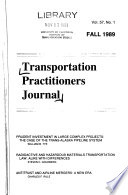 Transportation Practitioners Journal